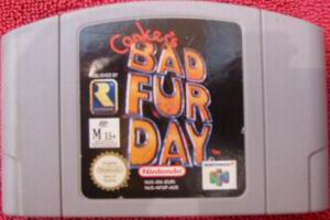 Conker's Bad Fur Day (USA) Cart Scan